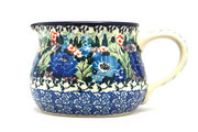 Ceramika Artystyczna Polish Pottery Pitcher - 15 oz. - Unikat Signature - U4572 009-U4572 (Ceramika Artystyczna)
