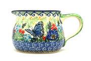 Ceramika Artystyczna Polish Pottery Pitcher - 15 oz. - Unikat Signature - U4600 009-U4600 (Ceramika Artystyczna)