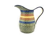Ceramika Artystyczna Polish Pottery Pitcher - 2 pint - Autumn B35-050a (Ceramika Artystyczna)