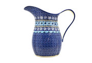 Ceramika Artystyczna Polish Pottery Pitcher - 2 pint - Aztec Sky B35-1917a (Ceramika Artystyczna)