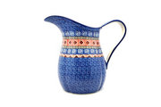 Ceramika Artystyczna Polish Pottery Pitcher - 2 pint - Aztec Sun B35-1350a (Ceramika Artystyczna)