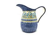 Ceramika Artystyczna Polish Pottery Pitcher - 2 pint - Blue Bells B35-1432a (Ceramika Artystyczna)