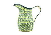 Ceramika Artystyczna Polish Pottery Pitcher - 2 pint - Irish Meadow B35-1888q (Ceramika Artystyczna)