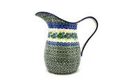 Ceramika Artystyczna Polish Pottery Pitcher - 2 pint - Ivy Trail B35-1898a (Ceramika Artystyczna)