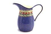 Ceramika Artystyczna Polish Pottery Pitcher - 2 pint - Maraschino B35-1916a (Ceramika Artystyczna)