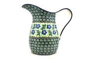 Ceramika Artystyczna Polish Pottery Pitcher - 2 pint - Sweet Violet B35-1538a (Ceramika Artystyczna)