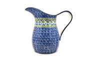 Ceramika Artystyczna Polish Pottery Pitcher - 2 pint - Tranquility B35-1858a (Ceramika Artystyczna)