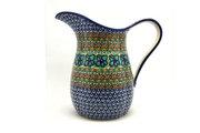 Ceramika Artystyczna Polish Pottery Pitcher - 2 pint - Unikat Signature U151 B35-U0151 (Ceramika Artystyczna)