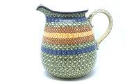 Ceramika Artystyczna Polish Pottery Pitcher - 2 quart - Autumn 082-050a (Ceramika Artystyczna)