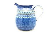 Ceramika Artystyczna Polish Pottery Pitcher - 2 quart - Aztec Sky 082-1917a (Ceramika Artystyczna)