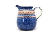 Ceramika Artystyczna Polish Pottery Pitcher - 2 quart - Aztec Sun 082-1350a (Ceramika Artystyczna)