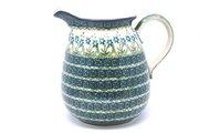 Ceramika Artystyczna Polish Pottery Pitcher - 2 quart - Blue Spring Daisy 082-614a (Ceramika Artystyczna)