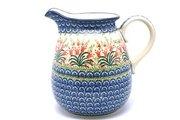 Ceramika Artystyczna Polish Pottery Pitcher - 2 quart - Crimson Bells 082-1437a (Ceramika Artystyczna)
