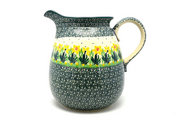 Ceramika Artystyczna Polish Pottery Pitcher - 2 quart - Daffodil 082-2122q (Ceramika Artystyczna)