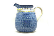 Ceramika Artystyczna Polish Pottery Pitcher - 2 quart - Daisy Maize 082-2178a (Ceramika Artystyczna)