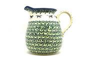 Ceramika Artystyczna Polish Pottery Pitcher - 2 quart - Dark Horse 082-2241a (Ceramika Artystyczna)