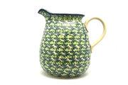 Ceramika Artystyczna Polish Pottery Pitcher - 2 quart - Irish Meadow 082-1888q (Ceramika Artystyczna)