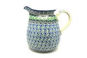 Ceramika Artystyczna Polish Pottery Pitcher - 2 quart - Kiwi 082-1479a (Ceramika Artystyczna)