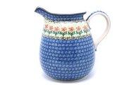 Ceramika Artystyczna Polish Pottery Pitcher - 2 quart - Maraschino 082-1916a (Ceramika Artystyczna)