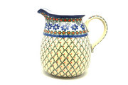 Ceramika Artystyczna Polish Pottery Pitcher - 2 quart - Primrose 082-854a (Ceramika Artystyczna)