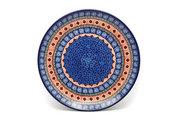 "Ceramika Artystyczna Polish Pottery Plate - 10"" Dinner - Aztec Sun 257-1350a (Ceramika Artystyczna)"