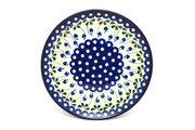 "Ceramika Artystyczna Polish Pottery Plate - 10"" Dinner - Bleeding Heart 257-377o (Ceramika Artystyczna)"