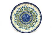"Ceramika Artystyczna Polish Pottery Plate - 10"" Dinner - Blue Bells 257-1432a (Ceramika Artystyczna)"