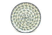 "Ceramika Artystyczna Polish Pottery Plate - 10"" Dinner - Forget-Me-Knot 257-2089a (Ceramika Artystyczna)"