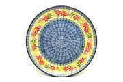 "Ceramika Artystyczna Polish Pottery Plate - 10"" Dinner - Maple Harvest 257-2533a (Ceramika Artystyczna)"