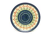 "Ceramika Artystyczna Polish Pottery Plate - 10"" Dinner - Peach Spring Daisy 257-560a (Ceramika Artystyczna)"