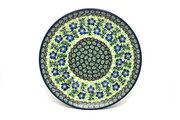 "Ceramika Artystyczna Polish Pottery Plate - 10"" Dinner - Sweet Violet 257-1538a (Ceramika Artystyczna)"