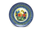 "Ceramika Artystyczna Polish Pottery Plate - 10"" Dinner - Unikat Signature - U4592 257-U4592 (Ceramika Artystyczna)"