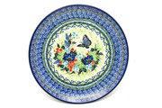 "Ceramika Artystyczna Polish Pottery Plate - 10"" Dinner - Unikat Signature - U4600 257-U4600 (Ceramika Artystyczna)"