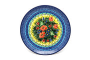 "Ceramika Artystyczna Polish Pottery Plate - 10"" Dinner - Unikat Signature - U4610 257-U4610 (Ceramika Artystyczna)"