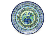 "Ceramika Artystyczna Polish Pottery Plate - 10"" Dinner - Unikat Signature - U4629 257-U4629 (Ceramika Artystyczna)"