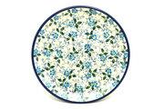 "Ceramika Artystyczna Polish Pottery Plate - Bread & Butter (6 1/4"") - Forget-Me-Knot 261-2089a (Ceramika Artystyczna)"