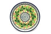 "Ceramika Artystyczna Polish Pottery Plate - Bread & Butter (6 1/4"") - Holly Berry 261-1734a (Ceramika Artystyczna)"