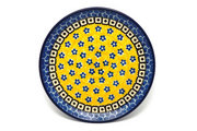 "Ceramika Artystyczna Polish Pottery Plate - Bread & Butter (6 1/4"") - Sunburst 261-859a (Ceramika Artystyczna)"