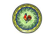 "Ceramika Artystyczna Polish Pottery Plate - Bread & Butter (6 1/4"") - Unikat Signature - U2663 261-U2663 (Ceramika Artystyczna)"