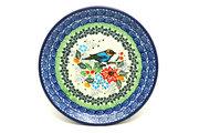 "Ceramika Artystyczna Polish Pottery Plate - Bread & Butter (6 1/4"") - Unikat Signature - U3184 261-U3184 (Ceramika Artystyczna)"