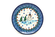 Ceramika Artystyczna Polish Pottery Plate - Bread & Butter (6 1/4") - Unikat Signature - U4661 261-U4661 (Ceramika Artystyczna)