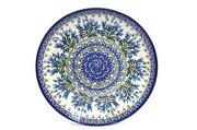 "Ceramika Artystyczna Polish Pottery Plate - Dinner (10 1/2"") - Blue Bells 223-1432a (Ceramika Artystyczna)"