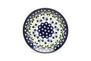 "Ceramika Artystyczna Polish Pottery Plate - Salad/Dessert (7 3/4"") - Bleeding Heart 086-377o (Ceramika Artystyczna)"