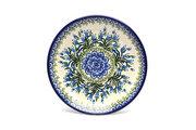 "Ceramika Artystyczna Polish Pottery Plate - Salad/Dessert (7 3/4"") - Blue Bells 086-1432a (Ceramika Artystyczna)"