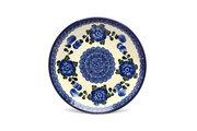"Ceramika Artystyczna Polish Pottery Plate - Salad/Dessert (7 3/4"") - Blue Poppy 086-163a (Ceramika Artystyczna)"