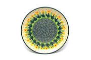 "Ceramika Artystyczna Polish Pottery Plate - Salad/Dessert (7 3/4"") - Daffodil 086-2122q (Ceramika Artystyczna)"