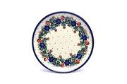 "Ceramika Artystyczna Polish Pottery Plate - Salad/Dessert (7 3/4"") - Garden Party 086-1535a (Ceramika Artystyczna)"