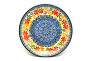 "Ceramika Artystyczna Polish Pottery Plate - Salad/Dessert (7 3/4"") - Maple Harvest 086-2533a (Ceramika Artystyczna)"