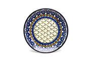 "Ceramika Artystyczna Polish Pottery Plate - Salad/Dessert (7 3/4"") - Primrose 086-854a (Ceramika Artystyczna)"
