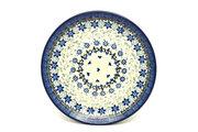 "Ceramika Artystyczna Polish Pottery Plate - Salad/Dessert (7 3/4"") - Silver Lace 086-2158a (Ceramika Artystyczna)"